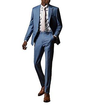 Ted Baker - HectorJ/HectorT/HectorW Debonair Sharkskin Modern Fit Suit Separates