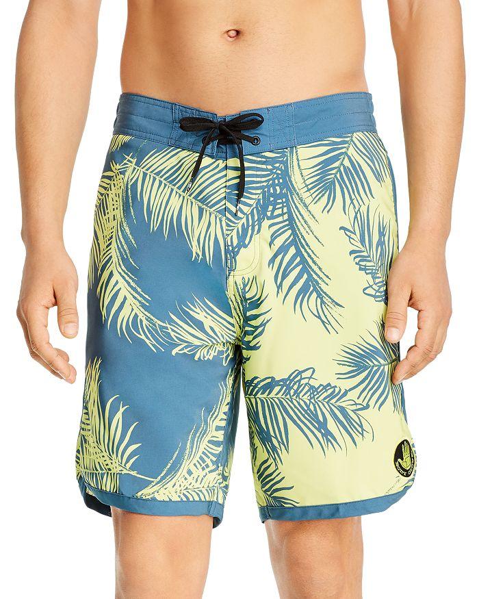 Bodyglove Body Glove Bananarama Seaside Swim Board Shorts In Lime Soda