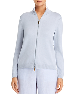 Lafayette 148 New York Fitted Bomber Jacket-Women