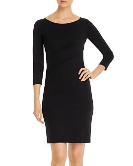 Armani - Wrap-Detail Dress