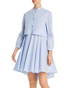 Armani - Cotton Popover Dress