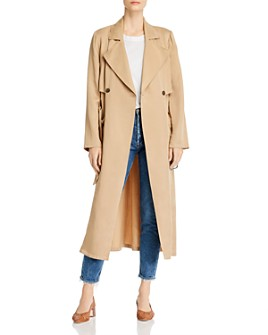 cupcakes and cashmere - Melody Belted Trench Coat