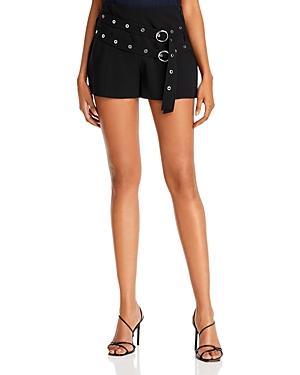 Cinq a Sept Jessi Double-Buckle Shorts-Women
