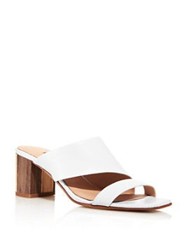 Charles David - Women's Chello Slip On Mid-Heel Sandals