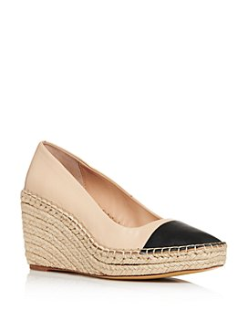 Charles David - Women's Glider Espadrille Wedge Pumps