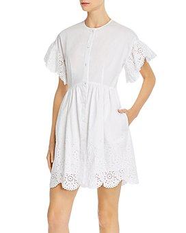 Rebecca Taylor - Cotton Eyelet Dress