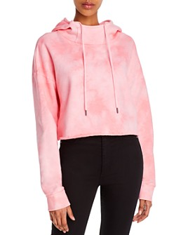 Alice and Olivia - Niki Cropped Hoodie