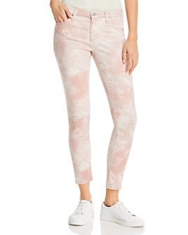 AG - Tie-Dyed Skinny Jeans