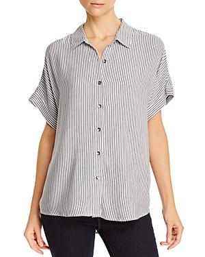 Splendid Lily Striped Short-Sleeve Shirt