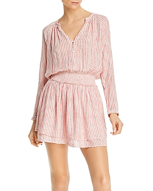 Rails Jasmine Striped Smocked Dress-Women