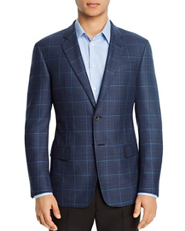 Armani - Plaid Regular Fit Blazer