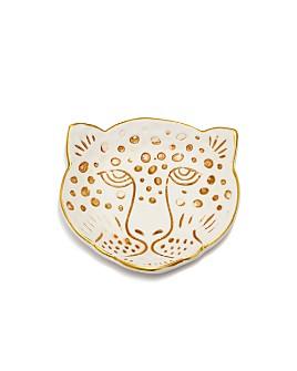 Kikkerland - Leopard Head Porcelain Catch-All