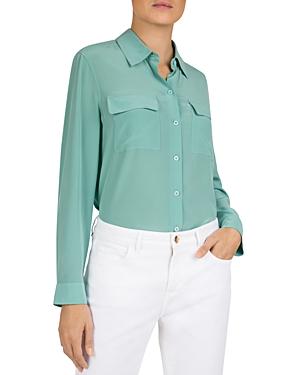 Gerard Darel Chemise Silk Shirt-Women