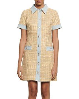 Sandro - Mella Tweed Mini Dress