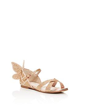 Sophia Webster - Girls' Chiara Embroidered Glitter Sandals - Toddler, Little Kid