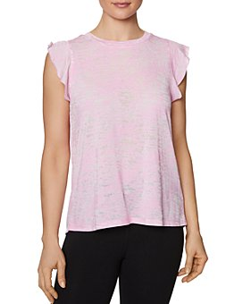 Betsey Johnson - Ruffled-Sleeve Tank Top