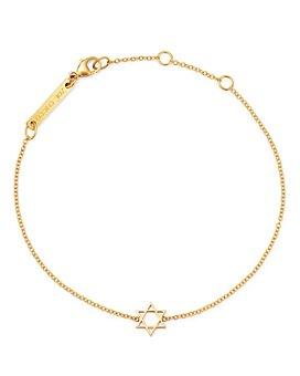 Zoë Chicco - Midi Bitty Star Of David Centered Bracelet