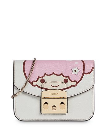 Furla - Kitty Mini Leather Crossbody Bag