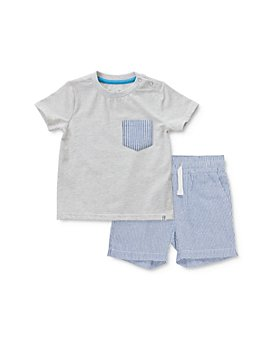 Sovereign Code - Boys' Lannister Pocket Tee & Seersucker Shorts Set - Baby