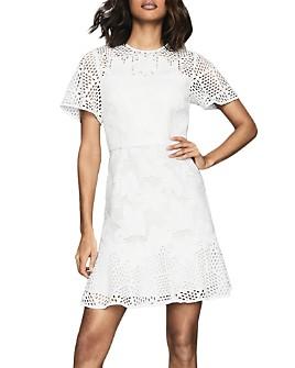 REISS - Damara Lace Mini Dress