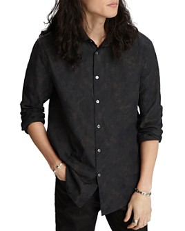 John Varvatos Collection - Tonal Floral Slim Fit Button-Down Shirt