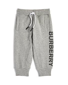 Burberry - Boys' Linus Logo Jogger Pants - Little Kid, Big Kid