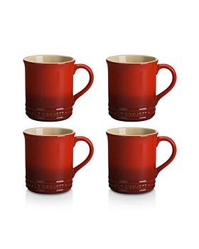 Le Creuset - Stoneware Mugs, Set of 4