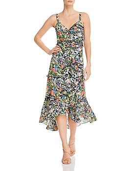 Parker - Melody Floral-Printed Back-Cutout Dress