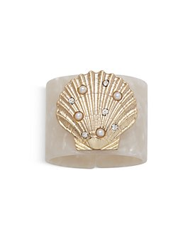 Joanna Buchanan - Shell Resin Napkin Rings, Set of 4