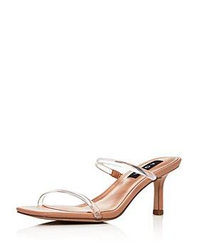 AQUA - Women's Ellen Slip On Strappy Sandals - 100% Exclusive