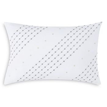 """Charisma - Belaire Embroidered Decorative Pillow, 14"""" x 22"""""""