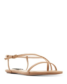 AQUA - Women's Lory Flat Strappy Sandals - 100% Exclusive