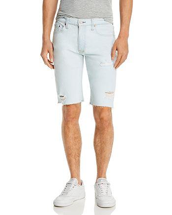 Levi's - 511 Cut-Off Denim Slim Fit Shorts in Pita Dx