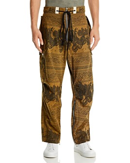 BILLY Los Angeles - Cotton Printed Regular Fit Cargo Pants