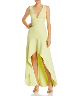 BCBGMAXAZRIA - High/Low Gown