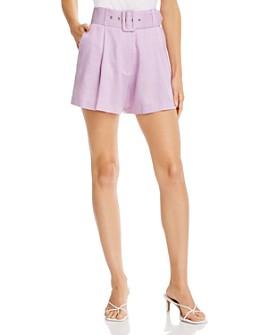 Re:Named - Belted Shorts