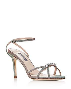 SJP by Sarah Jessica Parker - Women's Scant Embellished Glitter Sandals