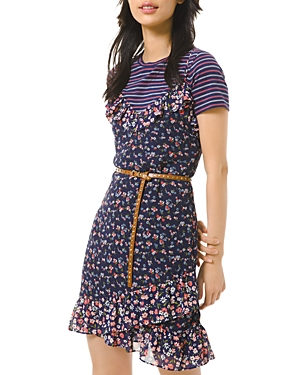 Michael Michael Kors Garden Patch Slip Dress-Women