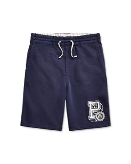 Ralph Lauren - Boys' Cotton French Terry Shorts - Big Kid - 100% Exclusive