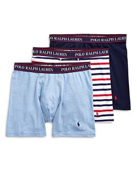 Polo Ralph Lauren - Cotton-Blend 4-Way Stretch Classic-Fit Boxer Briefs, Pack of 3
