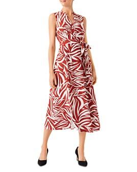HOBBS LONDON - Shelly Sleeveless Shirt Dress