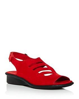 Arche - Women's Saorna Slingback Demi-Wedge Sandals