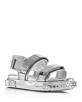 Giuseppe Zanotti - Women's Blabber Metallic Sport Slingback Sandals