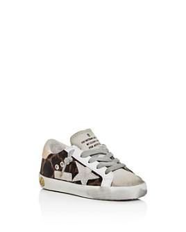 Golden Goose Deluxe Brand - Unisex Superstar Leopard-Print Sneakers - Baby, Walker, Toddler
