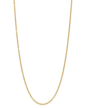 Zoë Chicco - 14K Yellow Gold Heavy Metal Oval Link Chain Necklace, 16""