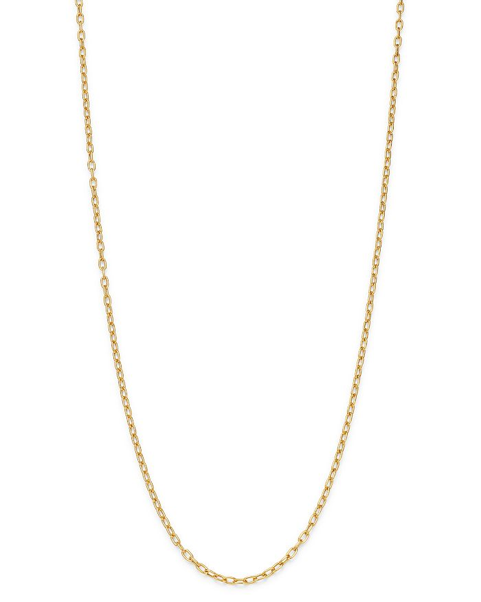 """Zoë Chicco - 14K Yellow Gold Heavy Metal Oval Link Chain Necklace, 16"""""""