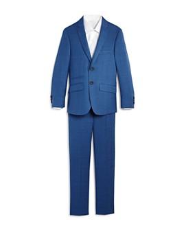 Andrew Marc - Boys' Plaid Suit - Big Kid