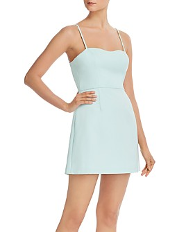 FRENCH CONNECTION - Whisper Sweetheart Light A-Line Dress