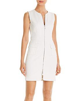 PAULE KA - Zip-Front Sheath Dress