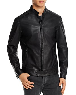 John Varvatos Star USA - Royce Sheepskin Racer Jacket